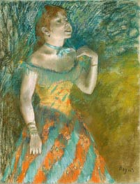 Degas | The Singer in Green, c.1884 | Giclée Paper Print