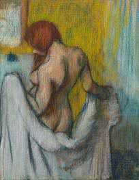 Degas | Woman with a Towel | Giclée Paper Print