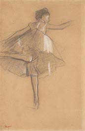 Degas | Dancer on Pointe | Giclée Paper Print