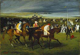 Degas | At the Races: The Start | Giclée Paper Print