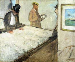 Degas | Cotton Merchants in New Orleans | Giclée Paper Print