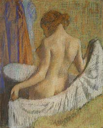 Degas | After the Bath, Woman with a Towel | Giclée Canvas Print