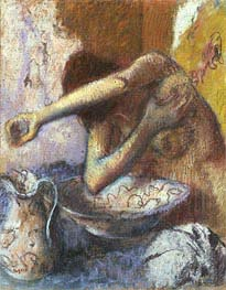 Degas | Woman at her Toilet | Giclée Paper Print