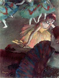 Degas | Ballerina and Lady with a Fan | Giclée Paper Print