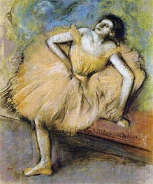 Degas | Seated Dancer, c.1894 | Giclée Paper Print