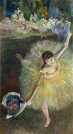 Degas | End of an Arabesque, c.1877 | Giclée Canvas Print