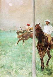 Degas | Jockeys Before the Race, c.1878/79 | Giclée Paper Print