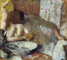 Degas | Woman at her Toilet, c.1897 | Giclée Paper Print