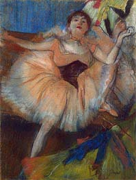 Degas | Seated Dancer, c.1879/80 | Giclée Paper Print