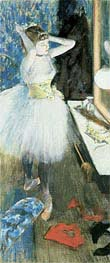 Degas | Dancer in Her Dressing Room, c.1879 | Giclée Paper Print