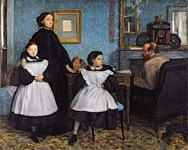 Degas | The Bellelli Family, c.1858/67 | Giclée Canvas Print