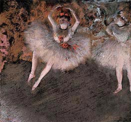 Degas | The Pas Battu | Giclée Canvas Print