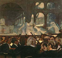 Degas | The ballet scene from Meyerbeer's opera 'Robert le Diable' | Giclée Canvas Print