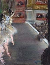 Degas | Dancers at the Old Opera House | Giclée Canvas Print