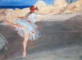 Degas | The Star: Dancer on Point | Giclée Paper Print
