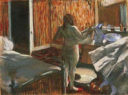 Degas | Woman Drying Herself After the Bath | Giclée Paper Print