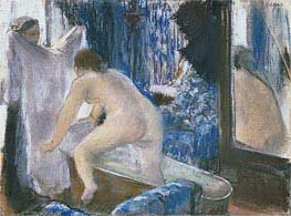 Degas | Woman Getting Out of the Bath, c.1877 | Giclée Paper Print