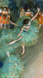 Degas | Swaying Dancer (Dancer in Green) | Giclée Paper Print