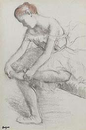 Degas | Seated Dancer | Giclée Paper Print