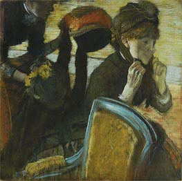 Degas | At the Milliner's | Giclée Paper Print