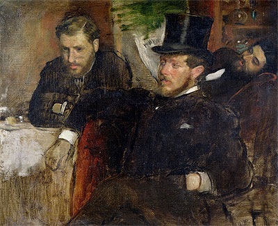 Jeantaud, Linet and Laine, 1871 | Degas | Painting Reproduction