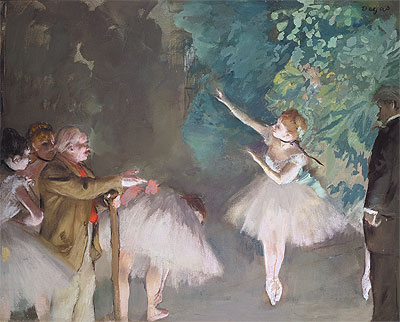 Ballet Rehearsal, 1875 | Degas | Painting Reproduction
