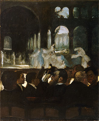 The Ballet from 'Robert le Diable', 1871 | Degas | Painting Reproduction