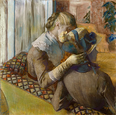 At the Milliner's, 1881 | Degas | Giclée Paper Print