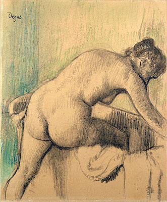 The Bath, 1883 | Degas | Painting Reproduction