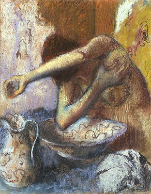 Woman at her Toilet, c.1887 | Degas | Giclée Paper Print