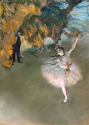 The Star (Dancer on the Stage), c.1876/77 | Degas | Giclée Paper Print