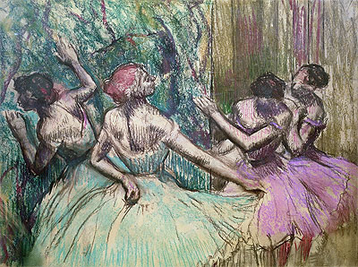 Degas | Dancers in the Wings, c.1899 | Giclée Paper Print