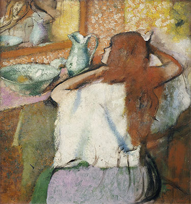 Woman at her Toilet, c.1895/00 | Degas | Painting Reproduction