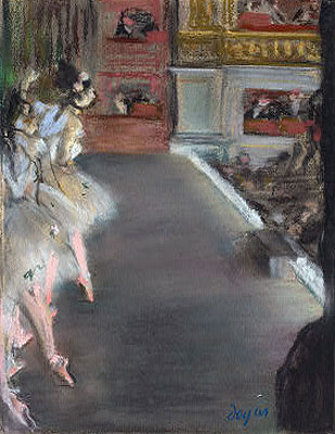 Dancers at the Old Opera House, c.1877 | Degas | Painting Reproduction