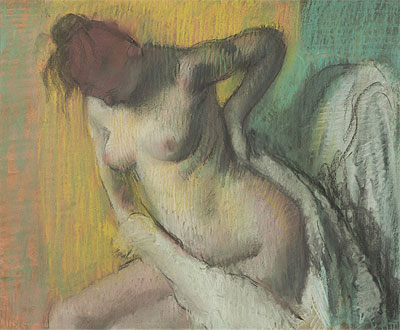 Woman Drying Herself, c.1886 | Degas | Giclée Paper Print