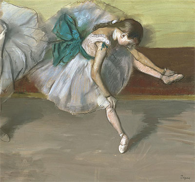 Dancer at Rest, c.1879 | Degas | Giclée Paper Print