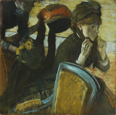 At the Milliner's, 1882 | Degas | Giclée Paper Print