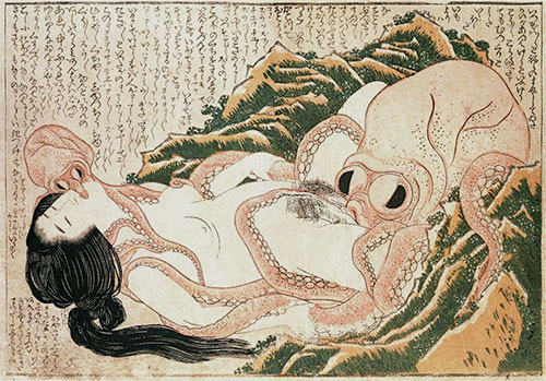 The Dream of the Fisherman's Wife, 1814 | Hokusai | Giclée Paper Print