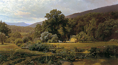 Summer in the Blue Ridge, 1874 | Hugh Bolton Jones | Giclée Canvas Print