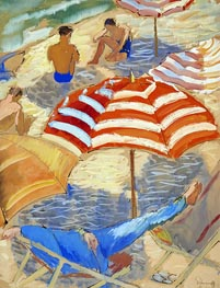 Isaac Grünewald | On the Beach, undated | Giclée Canvas Print