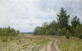 Isaac Levitan | The Track | Giclée Canvas Print