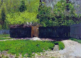Isaac Levitan | The First Greens. May, c.1883/88 | Giclée Canvas Print