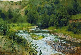 Isaac Levitan | Small River | Giclée Canvas Print