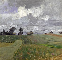 Isaac Levitan | Stormy Day, 1897 | Giclée Canvas Print