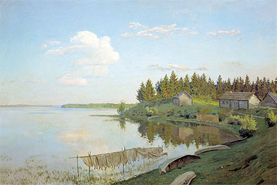 On Lake (The Tver Province), 1893 | Isaac Levitan | Painting Reproduction