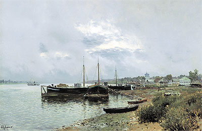 After Rain in Ples, 1889 | Isaac Levitan | Painting Reproduction