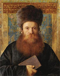 Isidor Kaufmann | Portrait of a Rabbi | Giclée Canvas Print