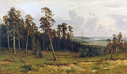 Ivan Shishkin | The Edge of the Forest | Giclée Canvas Print