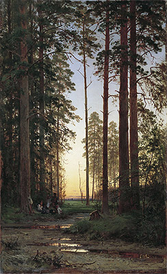 Edge of the Forest, 1879 | Ivan Shishkin | Painting Reproduction