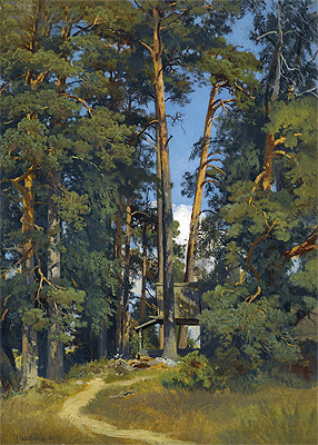 Woodland Grove, undated | Ivan Shishkin | Painting Reproduction